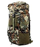 #5: Hind Travelling Army Rucksack ,Water Proof Traking Military Backpack/Tourist Bag 75ltr.