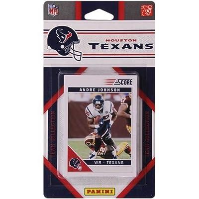NFL Houston Texans Licensed 2011 Score Team Set