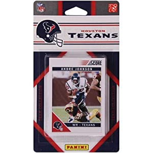 NFL Houston Texans Licensed 2011 Score Team Set by Football Fanatics