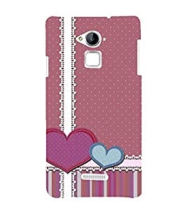 Creative Love Wallpaper 3D Hard Polycarbonate Designer Back Case Cover for Coolpad Note 3