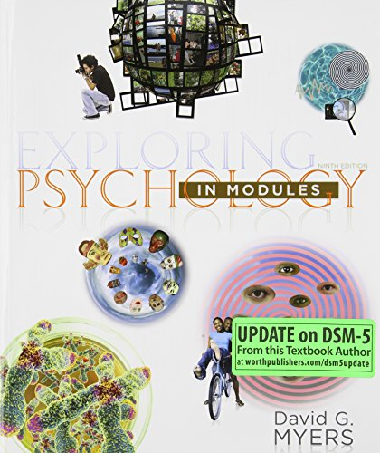 Exploring Psychology in Modules (Paper) (Psychology Myers Modules compare prices)
