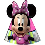 Disney Minnie Mouse Bow-tique Cone Hats Party Accessory