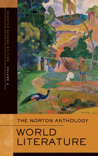 The Norton Anthology of World Literature (Shorter Second Edition)  (Vol. 2)
