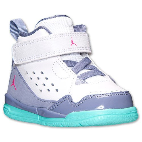 Jordan SC-3 (Infant/Toddler) Infants Boots Shoes 645052-145 Size 7 D (Standard Width) White/Hyper Pink/Iron Purple/Bleached