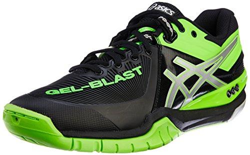 [ASICs] ASICS GEL-BLAST 6 THH537 9089 (black / lime /27.5)