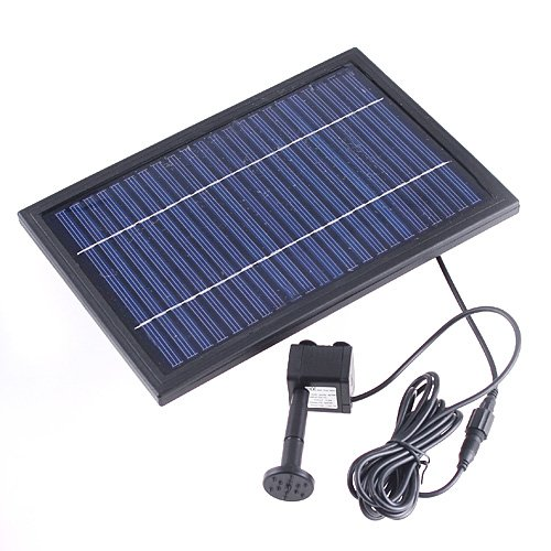 Kingzer polycrystalline silicon solar pump brushless water for Solar water filter for ponds