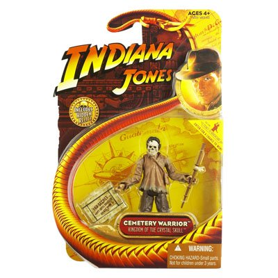 Picture of Hasbro Indiana Jones - Kingdom of the Crystal Skull Cemetery Warrior Action Figure (B0018SXWXK) (Hasbro Action Figures)
