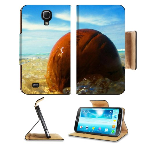 Ocean Waves Washing Over Stone Samsung Galaxy Mega 6.3 I9200 Flip Case Stand Magnetic Cover Open Ports Customized Made To Order Support Ready Premium Deluxe Pu Leather 7 1/16 Inch (171Mm) X 3 15/16 Inch (95Mm) X 9/16 Inch (14Mm) Msd Mega Cover Professiona front-580718
