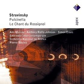Stravinsky : Pulcinella & Le chant du rossignol - Apex
