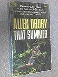 That summer (0678663750) by Allen Drury