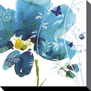 Posters: Flowers Stretched Canvas Print - Meadow, Summer Thornton (24 x 24 inches)
