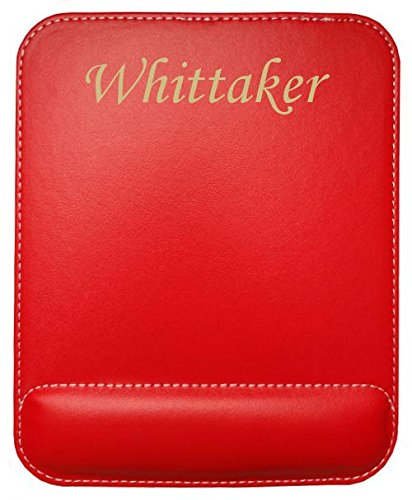 personalised-leatherette-mouse-pad-with-text-whittaker-first-name-surname-nickname