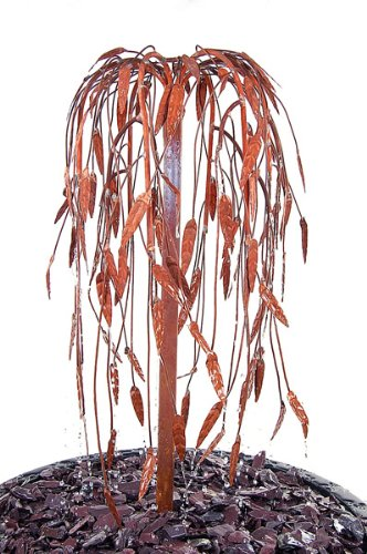 Ambiente Weeping Willow Copper Tree Cascade Water Feature