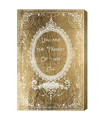 Oliver Gal Artist Co. The Fairest Gold, Multi, 30 x 20