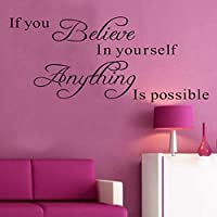 Hatop Wall Sticker Decal Mural Self Adhesive Paper Art Deco Love Without Quote Sticker by Hatop