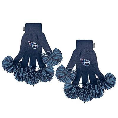NFL Tennessee Titans Spirit Fingerz, Large, White
