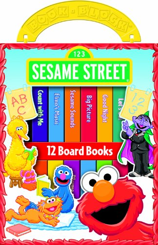 First Library Sesame Street Picture
