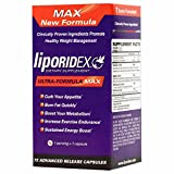 #1 Fat Burners Liporidex MAX - Weight Loss Supplements w/ Green Coffee - All Natural, Doctor Formulated, Appetite Suppressant, Thermogenic Metabolism Booster - The easy way to lose weight fast! - 72 diet pills - 1 Box