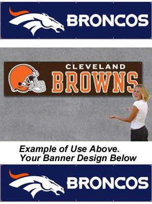 Denver Broncos 8' Banner - Buy Denver Broncos 8' Banner - Purchase Denver Broncos 8' Banner (The Party Animal, Home & Garden,Categories,Patio Lawn & Garden,Outdoor Decor,Banners & Flags,Sports Flags & Banners)