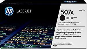 HP 507A (CE400A) Black Original LaserJet Toner Cartridge