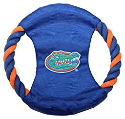 Pet Goods Manufacturing DISCRP-036 NCAA Florida Gators Rope Disc Dog Toy