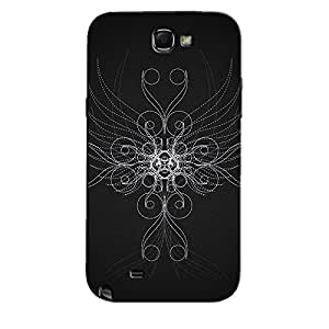 ABSTRACT ILLUSTRATION BACK COVER FOR SAMSUNG GALAXY NOTE 2