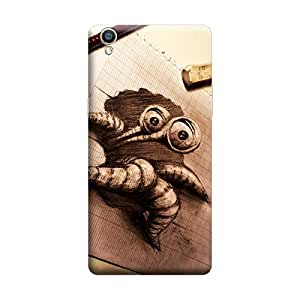 Ebby Premium Printed Back Case Cover With Full protection For Oppo F1 Plus (Designer Case)