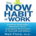 The Now Habit at Work: Perform Optimally, Maintain Focus, and Ignite Motivation in Yourself and Others (       UNABRIDGED) by Neil Fiore Narrated by Walter Dixon