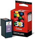 Lexmark 18C0033 colour ink cartridge 33