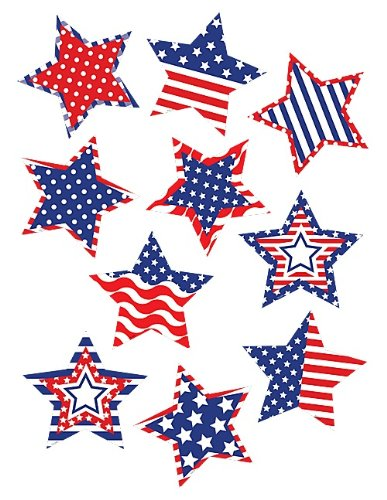 Teacher Created Resources Patriotic Stars Accents