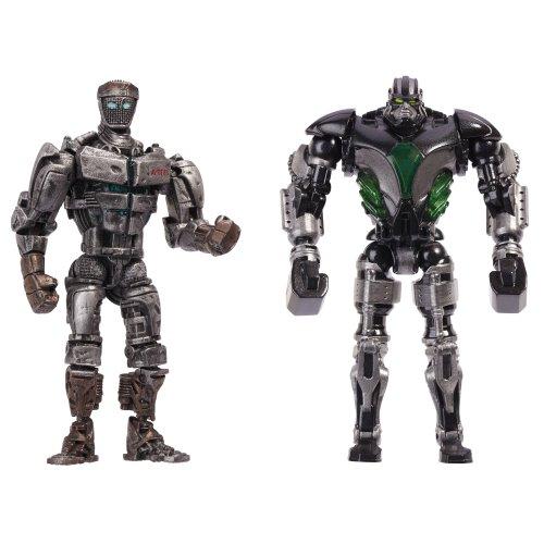Real Steel Versus 2 Packs Assortment 1 - Atom vs. Zeus