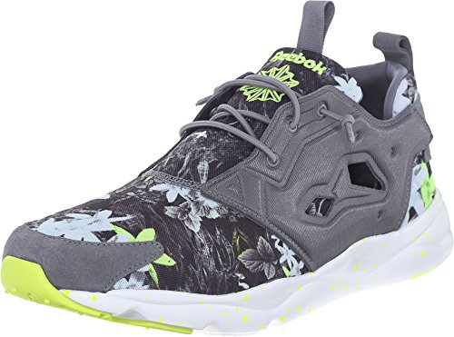Reebok Lifestyle Men's Furylite NP Alloy/White/Solar Yellow Sneaker 11.5 D (M)