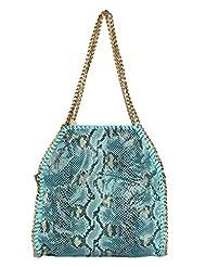 Kion Style Casual Snake Print Shoulder Bag - B00YXXIUVG