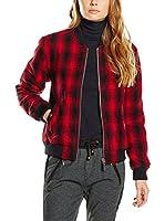 Pepe Jeans London Chaqueta Lana Eddie (Rojo / Negro)