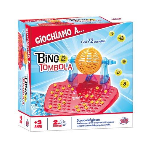 Grandi giochi gg90000 bingo tombola 72 cartelle for Cartelle tombola per anziani