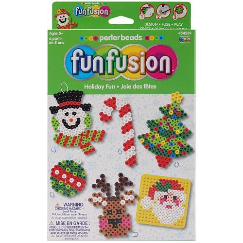 Perler Fun Fusion Bead Activity Kit, Holiday Fun