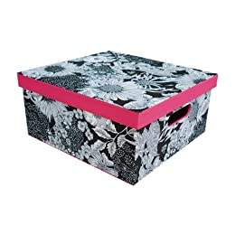 Product Image Liberty Black Floral Lidded Box