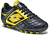 Lotto Sport Stadio Potenza II 700 FG Junior, Boys, black / super yellow