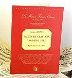 echange, troc Jacques Duphly - Troisième livre de pièces de clavecin