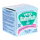 Vicks VapoRub Baby Ointment, 1.76-Ounce Jars (Pack of 6)