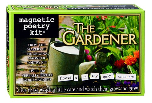 Magnetic Poetry Gardener Magnetic Poetry Kit