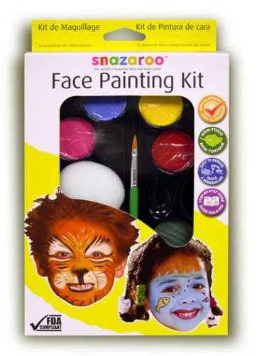 Snazaroo Face Painting Kit, Rainbow