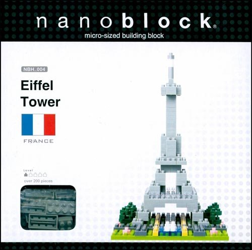 nanoblock eiffel tower instructions