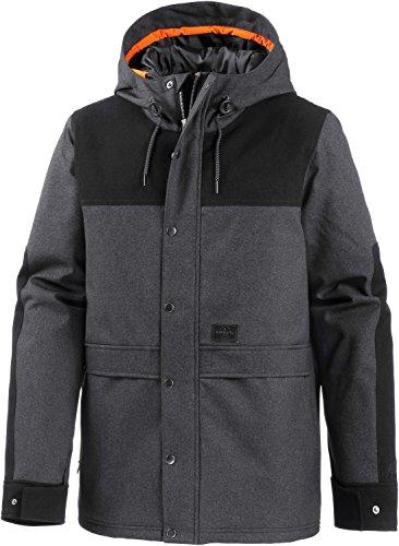 Rip Curl uomo giacca con cappuccio, nero, M