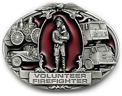 Buy VOLUNTEER FIREFIGHTER Belt Buckle Fire Department Fire Fighter Rescue
