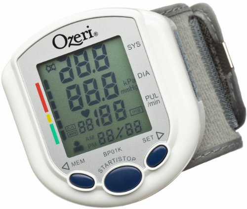 Ozeri BP01K CardioTech Pro Series Digital Blood