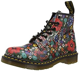 Dr. Martens R16122102 Womens 101 Hiking Boots, Multi-4
