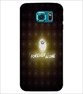 PrintDhaba Quote D-3877 Back Case Cover for SAMSUNG GALAXY S6 EDGE (Multi-Coloured)