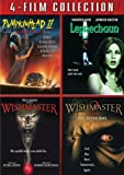 Pumpkinhead 2 & Leprechaun & Wishmaster 1 & 2 [DVD] [Region 1] [US Import] [NTSC]