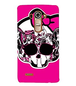 EPICCASE evil girls case Mobile Back Case Cover For LG G4 (Designer Case)
